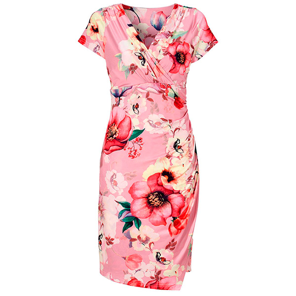 Light Pink Floral mekko