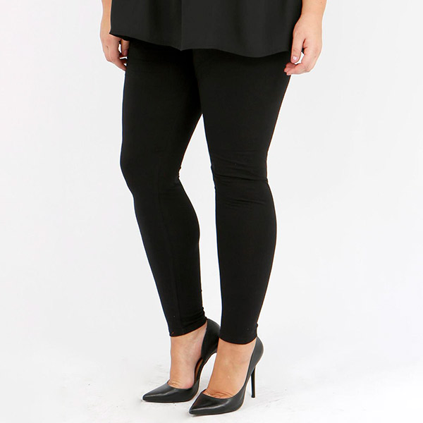 Lili London Madrid leggingsit mustat