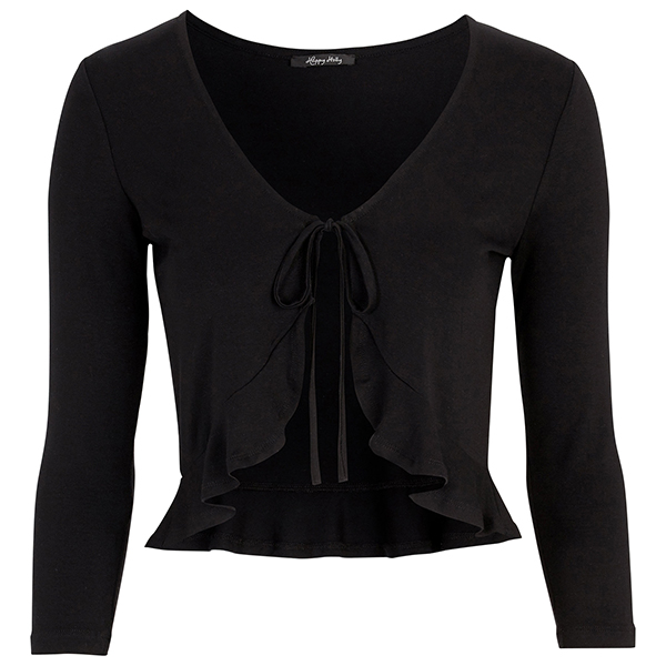 Happy Holly Trinny bolero musta