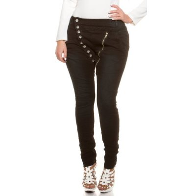 Fashion Jeans stretchfarkut mustat
