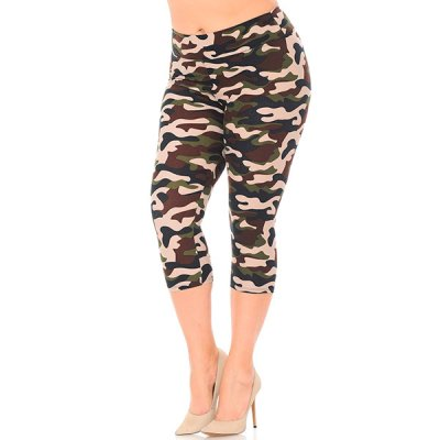 New Mix caprileggingsit ruskea camo