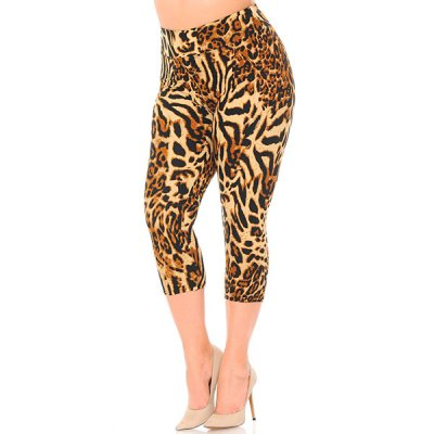 New Mix Leopard caprileggingsit